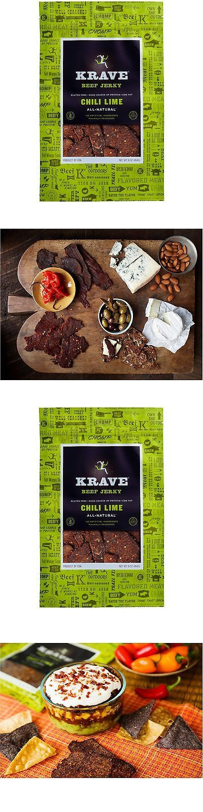 Buffalo Beef and Turkey Jerky 115716: Krave Beef Jerky Chili Lime 16 Oz - Online Only -> BUY IT NOW ONLY: $34.95 on eBay!