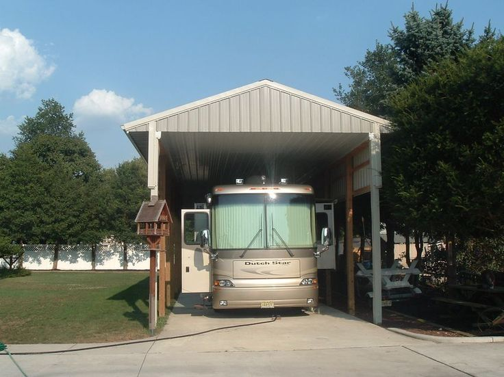 Best 25 rv carports ideas on pinterest rv shelter for Rv shed ideas