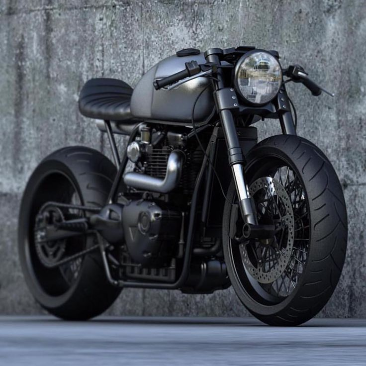 Awesome Triumph Cafe Racer concept from Ziggymoto