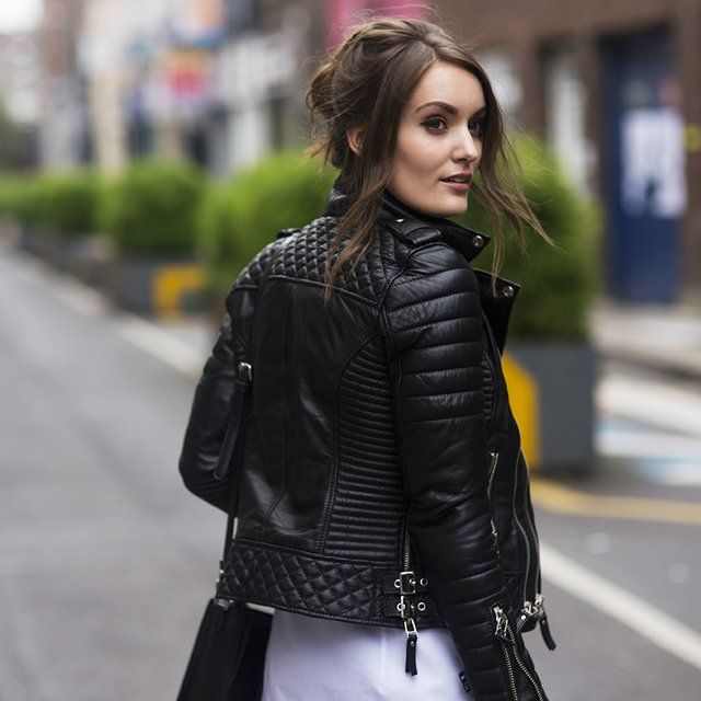 17 Best images about Women's Leather Biker Jackets on Pinterest ...