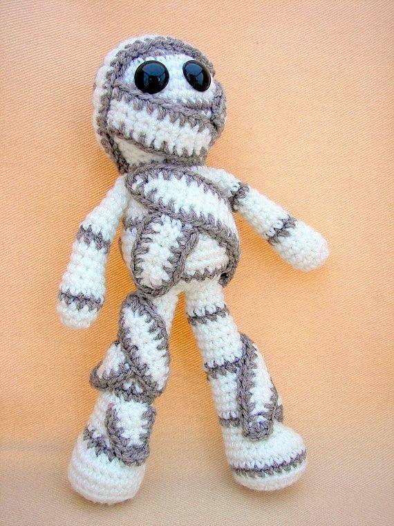 Ravelry: The Mummy amigurumi pattern by Gateando Crochet | 760x570