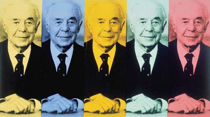 """Portrait of Seymour H. Knox"", 1985. Andy Warhol."