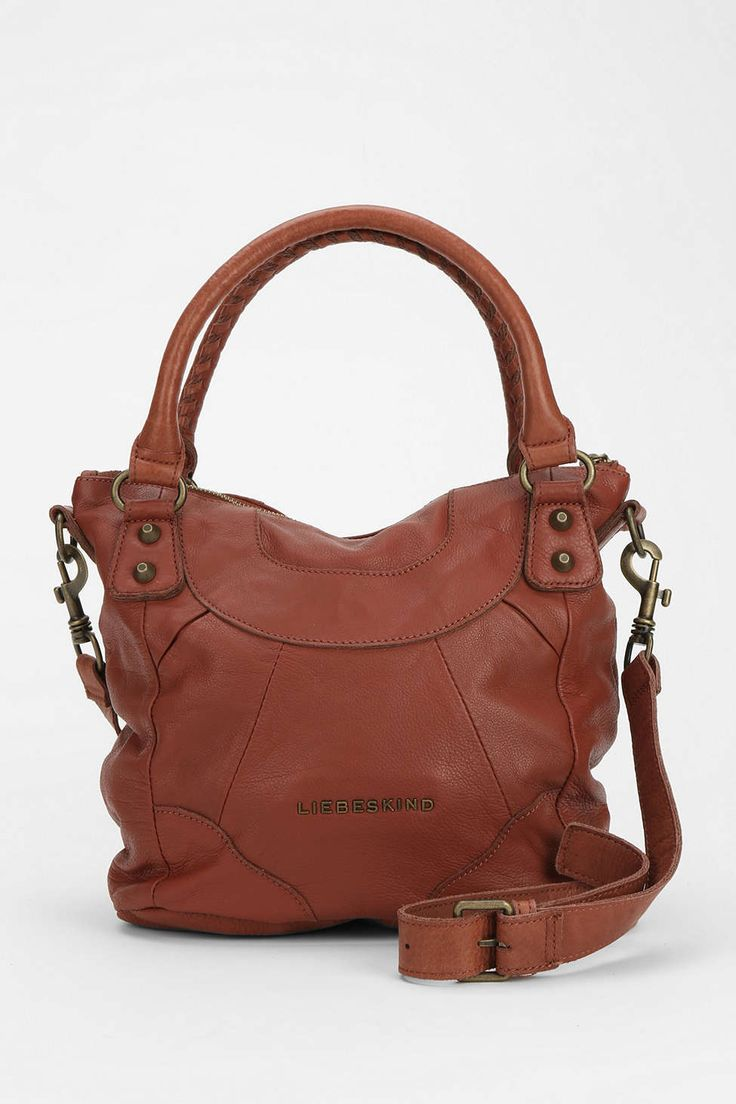 LIEBESKIND Gina E Leather Duffel Bag - Urban Outfitters