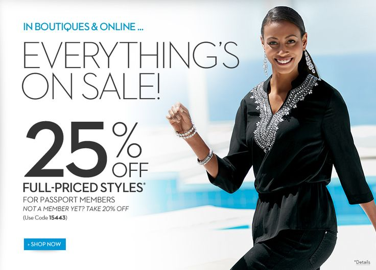 Everything Is On Sale - 20% Plus 5% Off