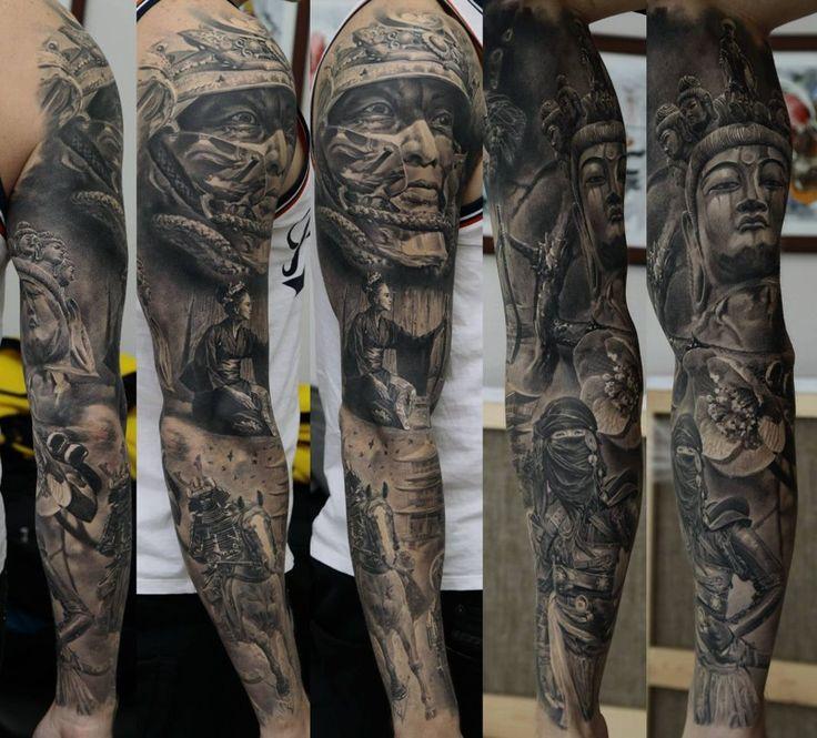 Татуировки - Произведения искусства Дмитрия Самохина