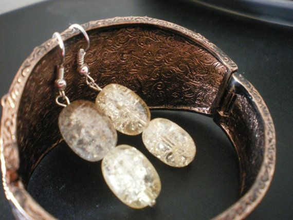 Melting Glacier Earrings