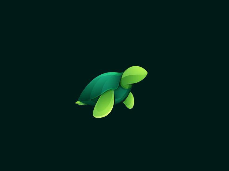 Turtle by Roma Korolev (Kaer) #Design Popular #Dribbble #shots