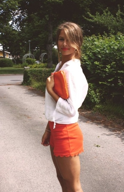 This would be a perfect game day outfit for us Auburn fans