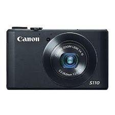 Aparat foto Compact Canon PowerShot S110 Black