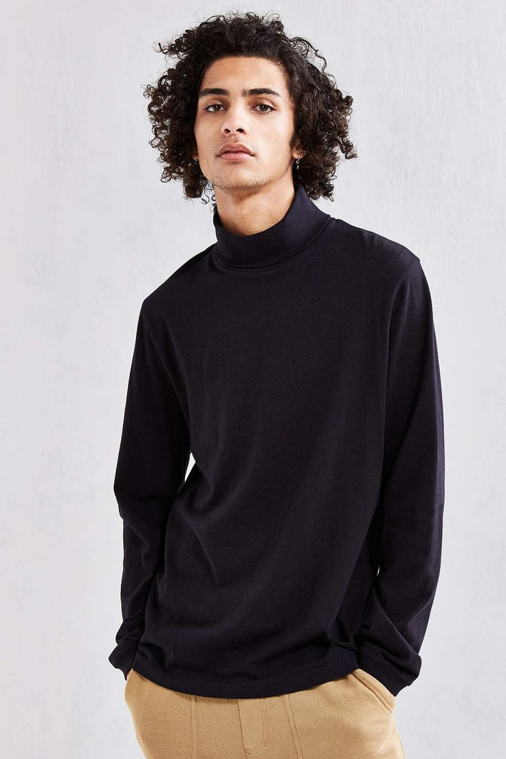 UO Basic Turtleneck Shirt - Urban Outfitters