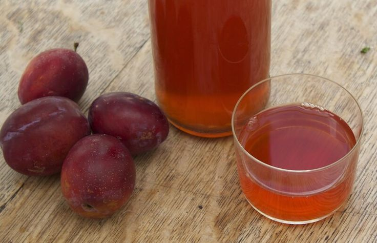 1 GALLON PLUM WINE- 5lb plumbs with stones steeped 3 days in 1/2 gal. boiled water. Cover & mix daily.  MASH/Strain to Demijohn.  ADD 1 tsp. lemon juice & 3 lbs.Sugar dissolved in 1/2 gal. boiled water. ADD 1 pk yeast started in 1/2cwarm water.  Airlock. rack/taste in 3w or when bubbles stop.  Drink/bottle or age.