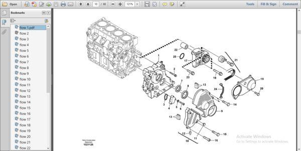 Volvo L35b Compact Wheel Loader Service Parts Catalogue