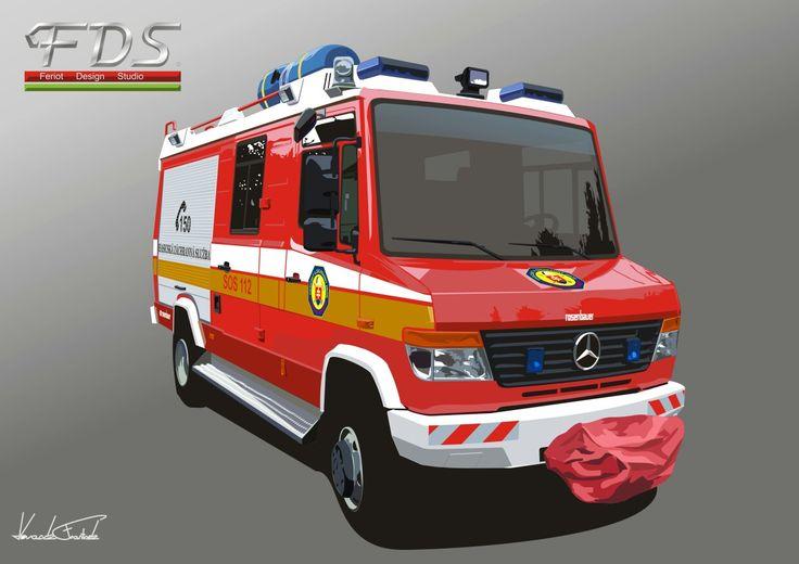 Mercedes Vario Fire truck