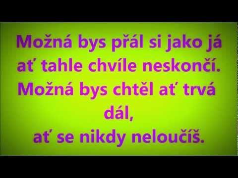 Jirka Koběrský-Loučení + text - YouTube