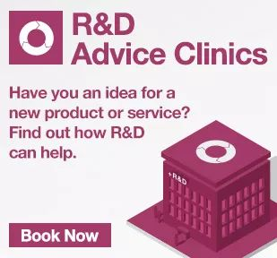 Get into R&D. If you are a business based in Northern Ireland please click on this pin to find out how Investni can help you do R&D for the first time.