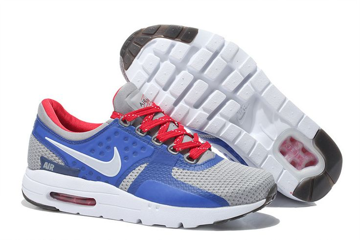 size 40 c9e9c f7c2d ... Buy 2015 Latest Nike Air Max Zero QS 87 Retro Womens Running Shoes  Light Gray Blue  Cheap ...