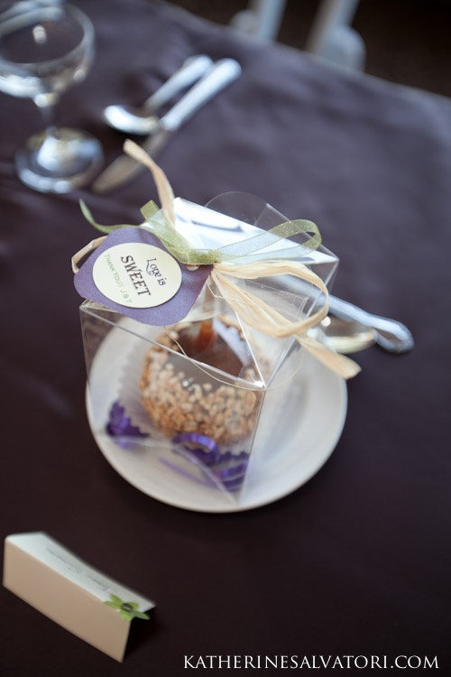Candied Apple Favor Boxes :  wedding candied apples diy fall favors reception