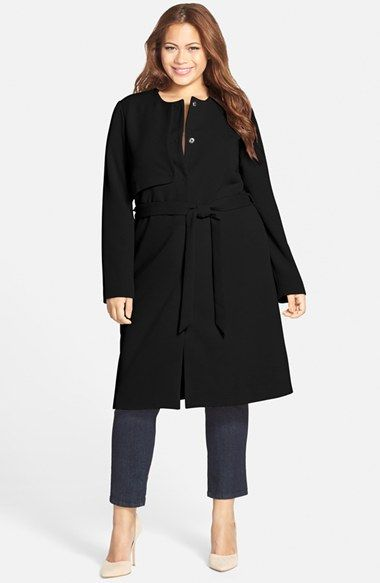 CARMAKOMA 'Bute' Trench Coat (Plus Size) | Nordstrom