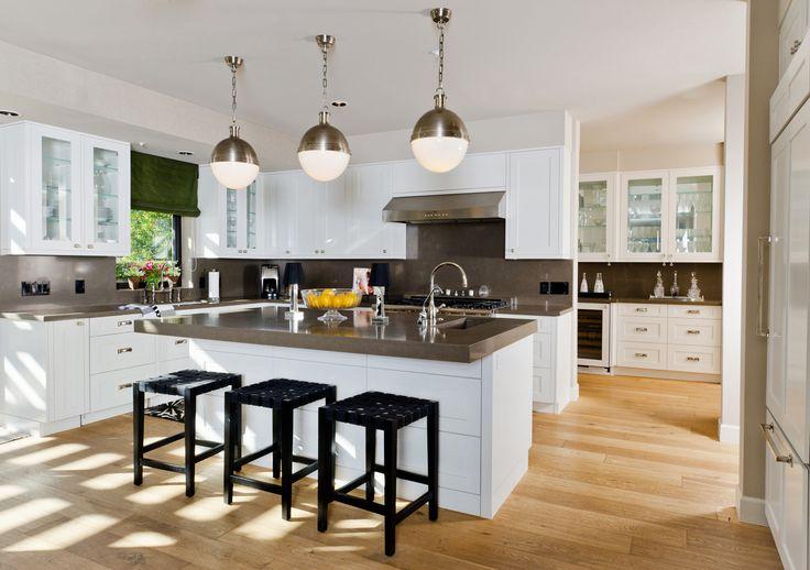 White units   wooden floor combi Home ideas Pinterest - häcker küchen ausstellung