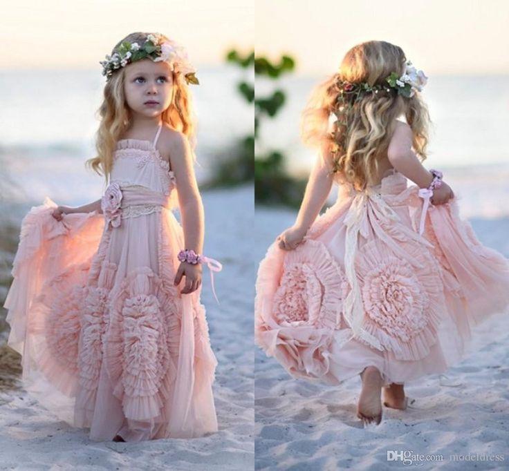 explore lace flower girl dresses