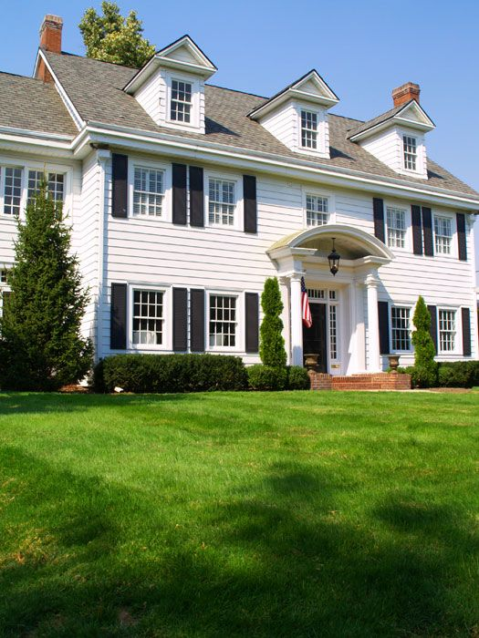 46 Best Images About Landscaping Colonial House On