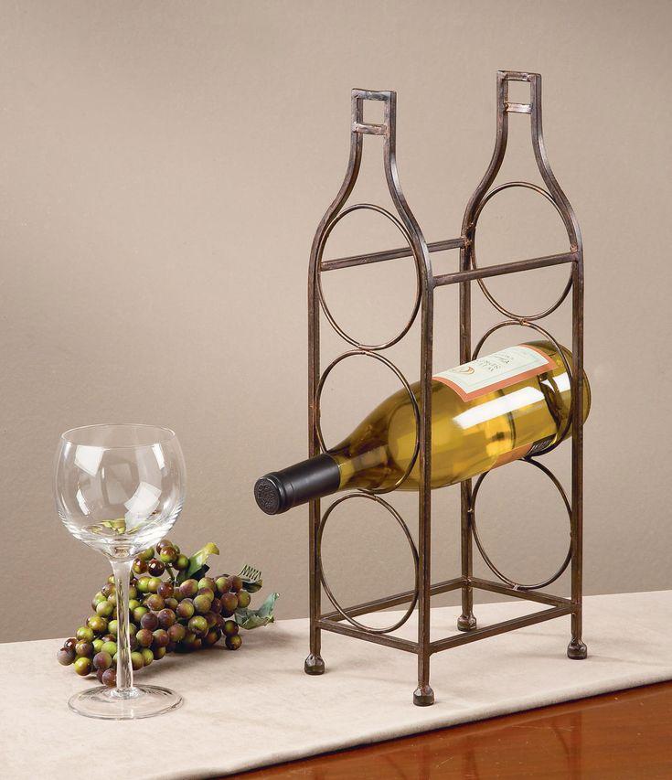 103 Best Wine Bottle Holders Images On Pinterest Wine