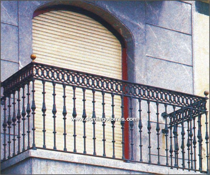 Ejemplo balcón Nº4119 in 2020 | Balcony railing design ...