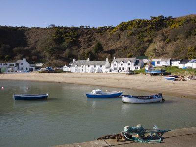 WALES: Porth Nefyn Bay on Lleyn Peninsula, Morfa Nefyn, Gwynedd.