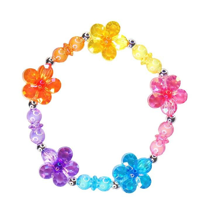 Flower Rainbow Power Bracelet
