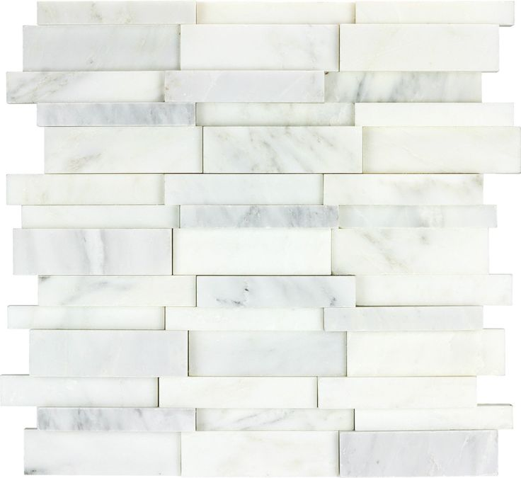 carrara marble tiles 3d bianco carrara marble mosaic backsplash tile
