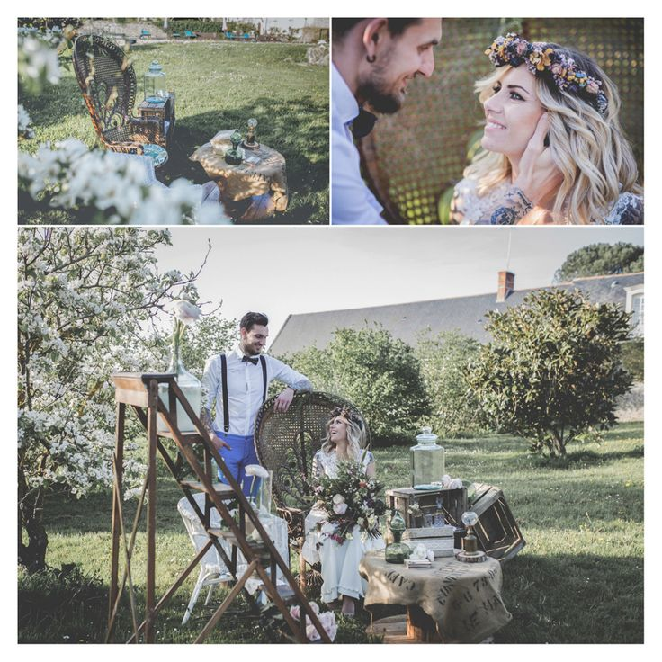 Un mariage Organique printanier à découvrir sur le blog  mariage, végétal mariage champêtre, mariage forêt