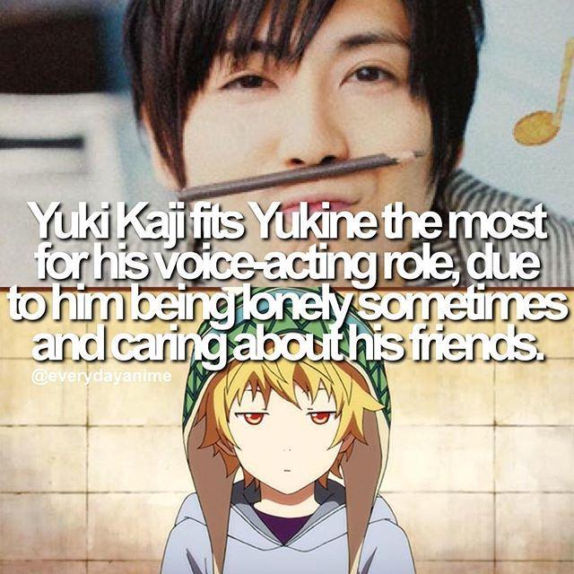 anime facts noragami yukine seijuu