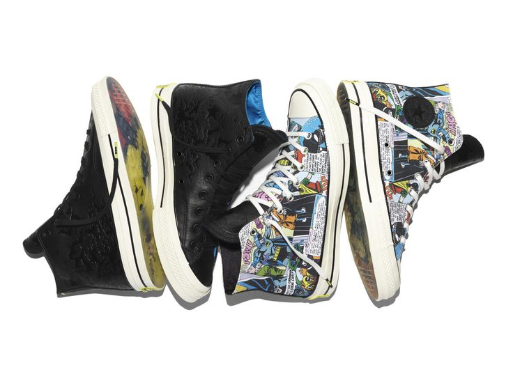 Converse Chuck Taylor 70 DC Comics Batman Collection      Photos: Courtesy of the brand  Converse gives a boost to its DC Comics series this fall with the new special edition Converse Chuck Taylor 70 DC Comics Batman Collection. This new