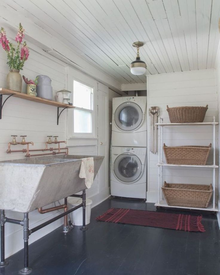 Laundry Room Accessories Decor: Best 25+ Rustic Laundry Rooms Ideas On Pinterest