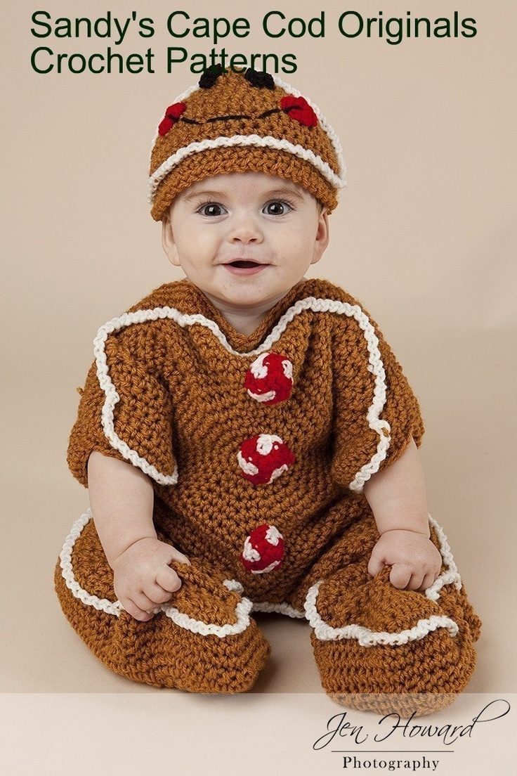 online cheap shoes in california Gingerbread Bunting and Hat Set Crochet Pattern