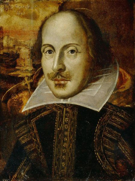 William Shakespeare, because anyone who can put words together in that fashion is worth note. By the way, I'm a Stratfordian.