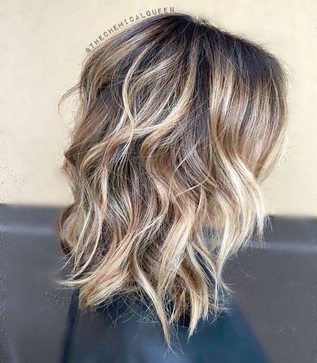 41 Lob Haircut Ideas For Women - thechemicalqueen Lob lovin' -What is a lob? Step by step easy tutorials on how to cut your hair for a lob haircut and amazing ideas for layered, and straight lobs. Ideas for lobs with bangs, thick hair, wavy and thin hair. For long hair and medium hair. For round faces and sharp features - thegoddess.com/lob-haircut-ideas-women