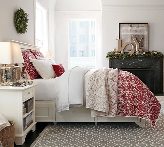 What Is Pottery Barn Style Called: Keller Stitched Quilt & Sham