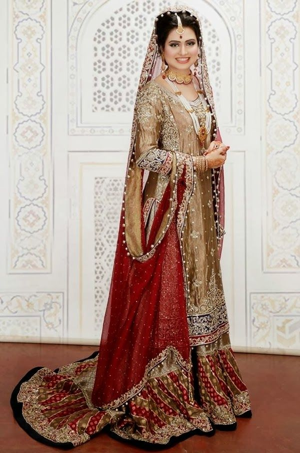 asian bridal dress 2014 -