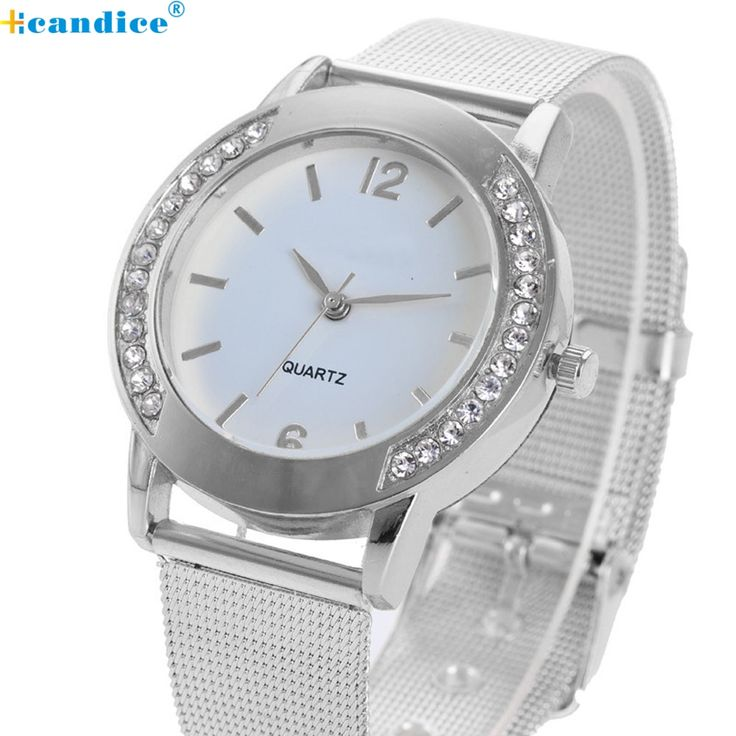 Cheap bracelet girl, Buy Quality bracelet jewerly directly from China bracelet cross Suppliers: Fashion Women Crystal Silver Stainless Steel Analog Quartz Wrist Watch Bracelet relogio reloj pulsera de cuero Aug30