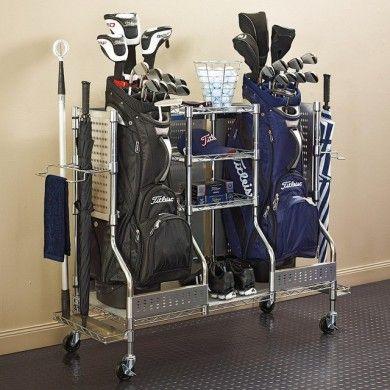 Double organiser matériel de golf