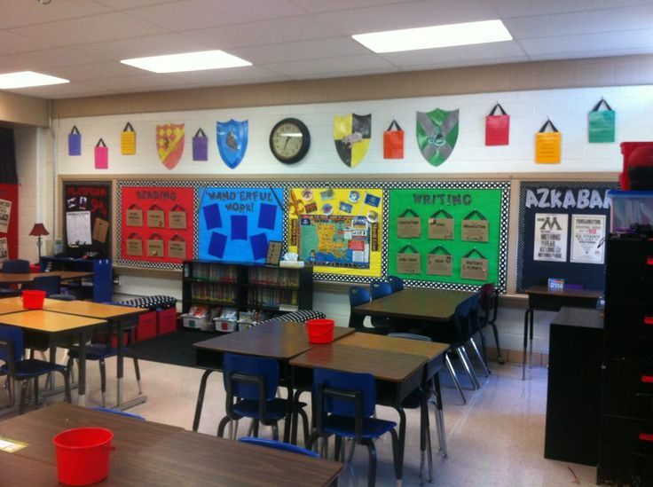 """""""Harry Potter"""" Classroom Theme (LOVELOVELOVE!!! Where was this when I was in elementary school?!)"""