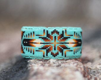 Native American (Oglala Lakota) handmade Beaded Bracelet