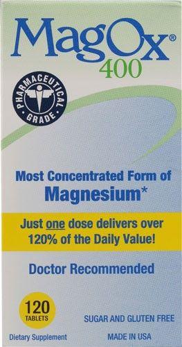 Mag-Ox 400 Magnesium Tablets, 120 ea, Multi