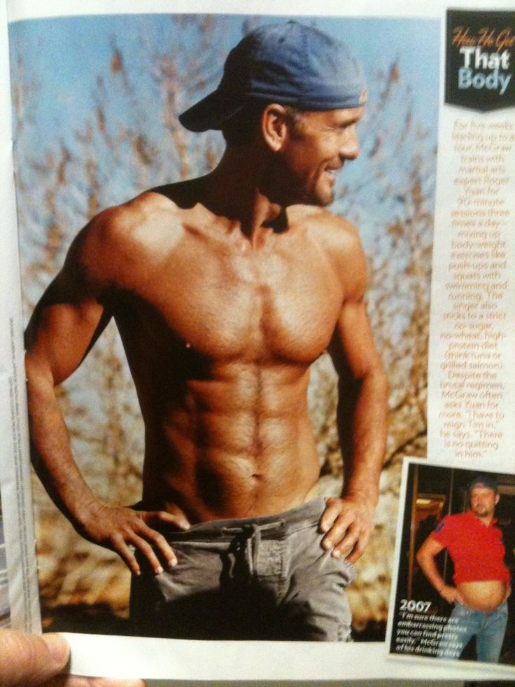 Tim McGraw; Sexy & Sober, AND Shirtless | Proud to Be Here