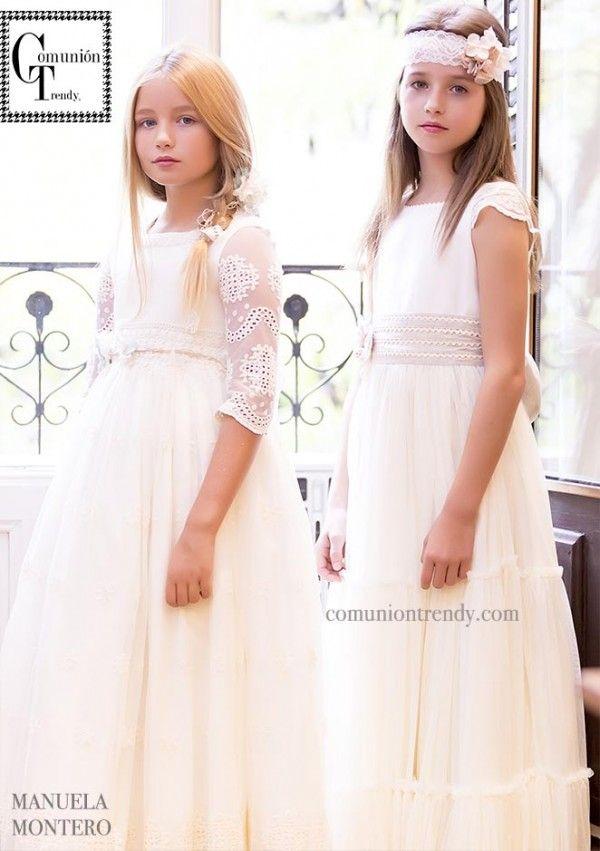Trajes de Comunión 2016, Vestidos de Comunión, Manuela Montero Primera Comunión, Comunión Trendy, Moda Infantil, 2