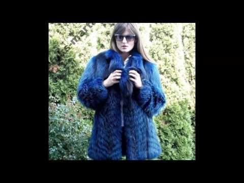 Woman In Colour Fox Fur Part 6