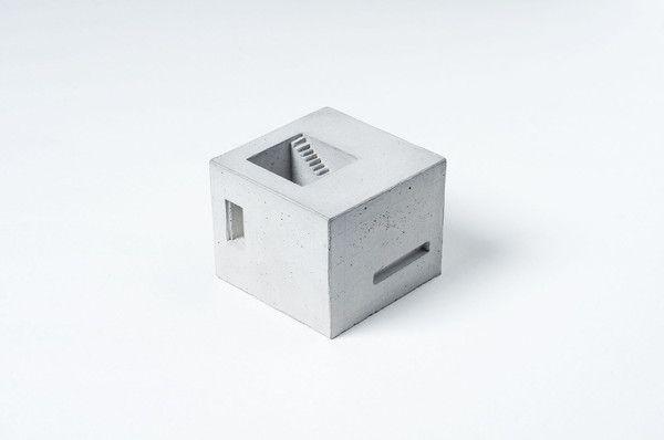 Miniature Concrete Home #6  Price : €31 Euro