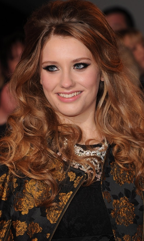 Curls Ella Henderson At The National Television Awards, 2013 | Look