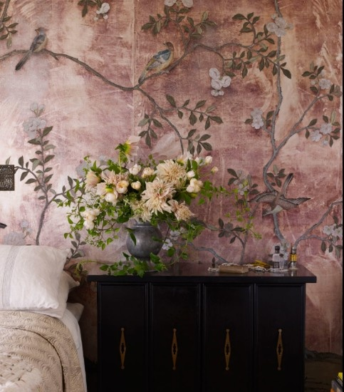 25 best images about de gournay on pinterest blossoms - Papeles pintados ingleses ...